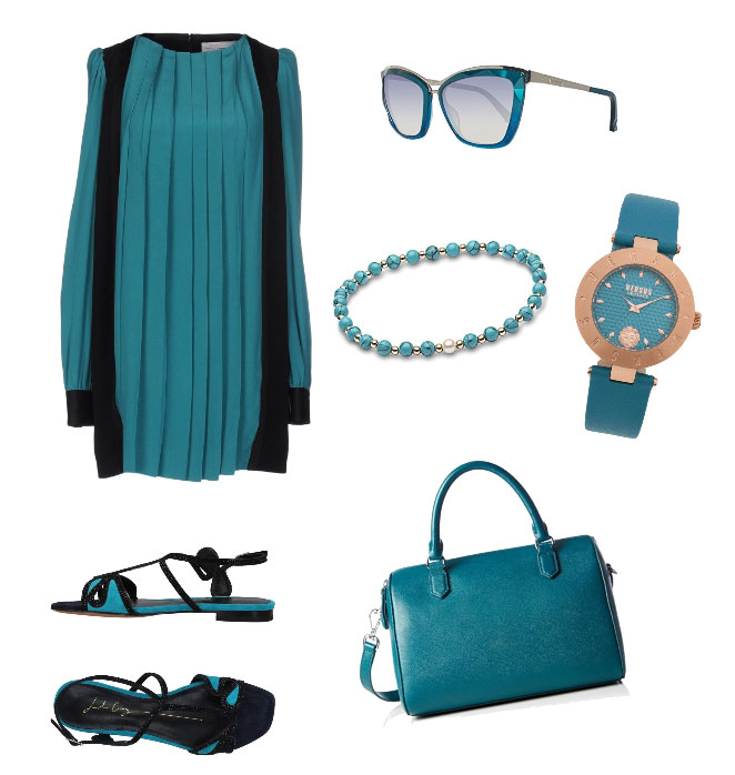 Idea outfit verde - Green outfit idea.