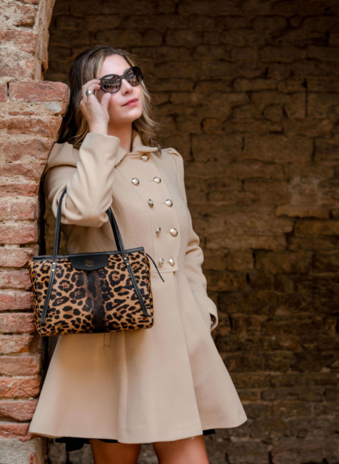 Look bon ton borsa animalier - Bob ton look animalier city bag.