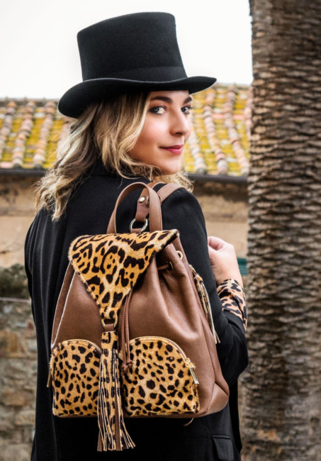 Animalier backpack Sapaf Atelier.