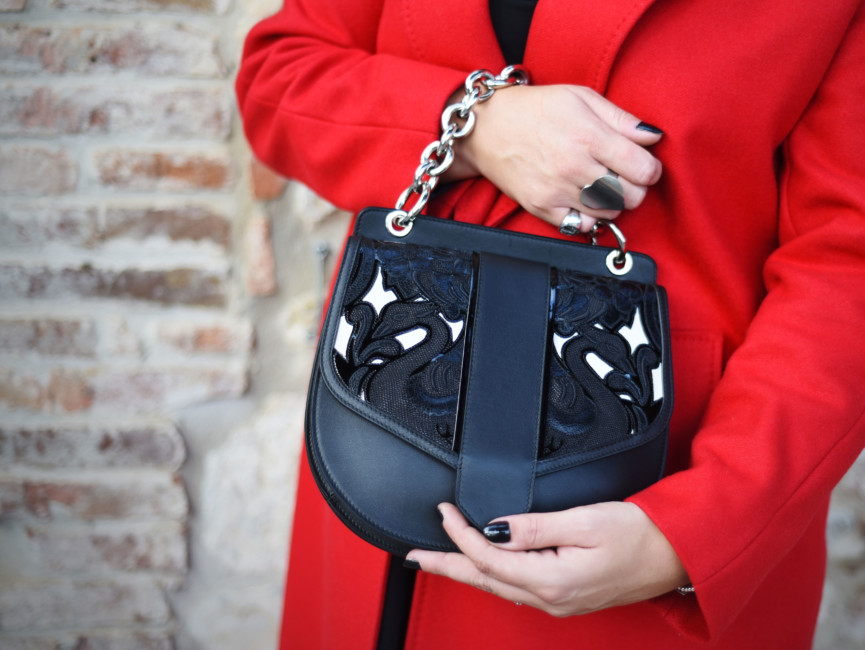 Luxury handbag made in Italy Sapaf Atelier.