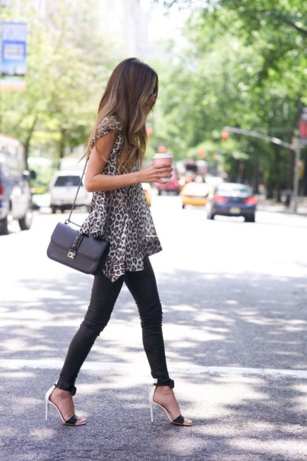 Animalier top look.