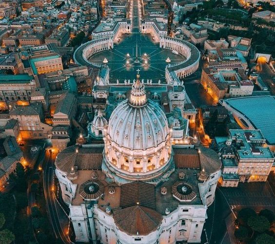 Basilica of Saint Peter, Rome.