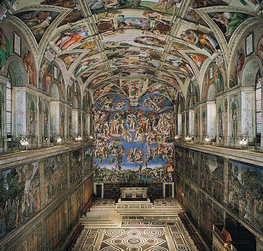 Sistine Chapel, Rome.