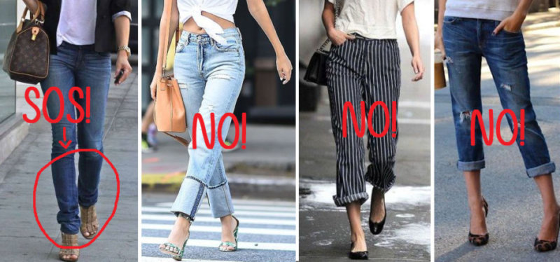 Come non indossare il risvoltino ai pantaloni - How not to wear roll over pants.