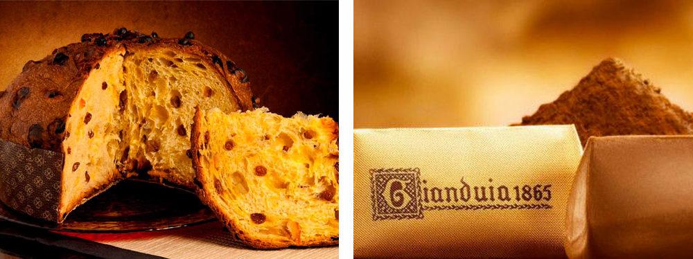 Panettone e Gianduiotto sono i dolci più famosi di Milano e Torino.