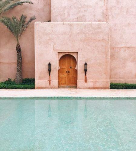 Viaggio intercontinentale Marrakech in Marocco.