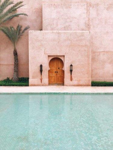Vacanze intercontinentali Marrakech in Marocco.
