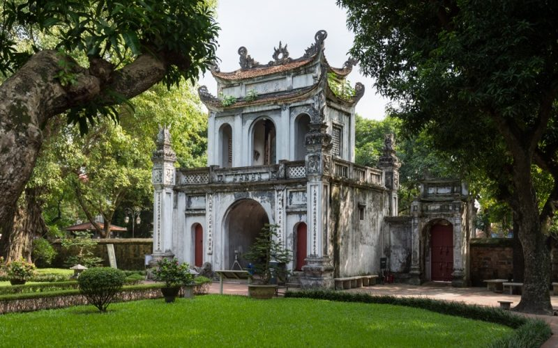 Viaggio intercontinentale in Vietnam ad Hanoi.