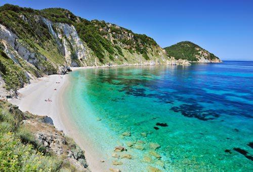 Le 10 destinazioni estive preferite per le vacanze in Italia.