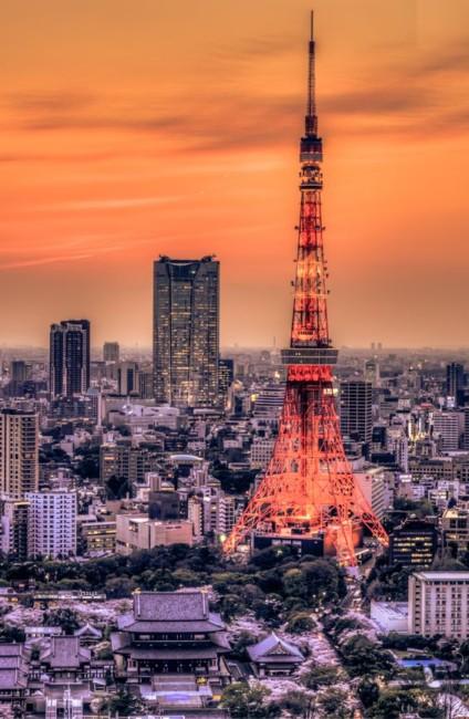 Intercontinental travel Tokyo.