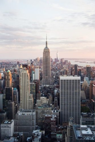 Top intercontinental travel New York City.