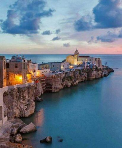 Holidays in Italy, Vieste, Puglia.