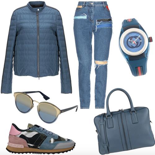 Bluestone outfit.