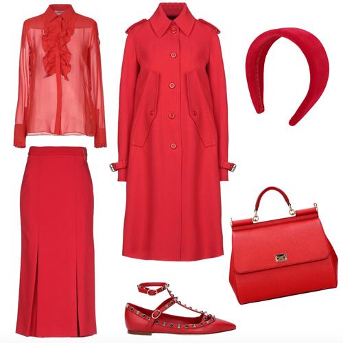 Outfit colori di stagione autunno inverno 2019.