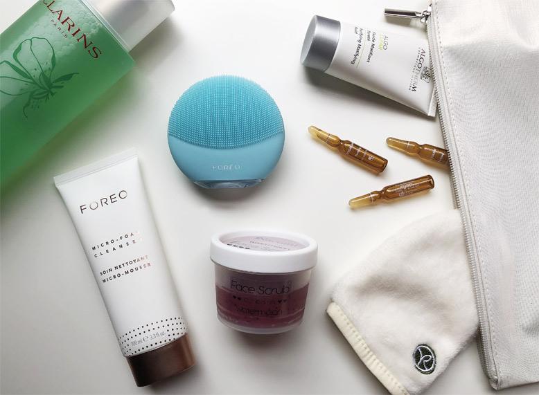 Tutti gli step per una beauty routine viso perfetta - All the steps for a perfect face beauty routine.