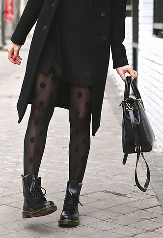 How to wear fancy tights.