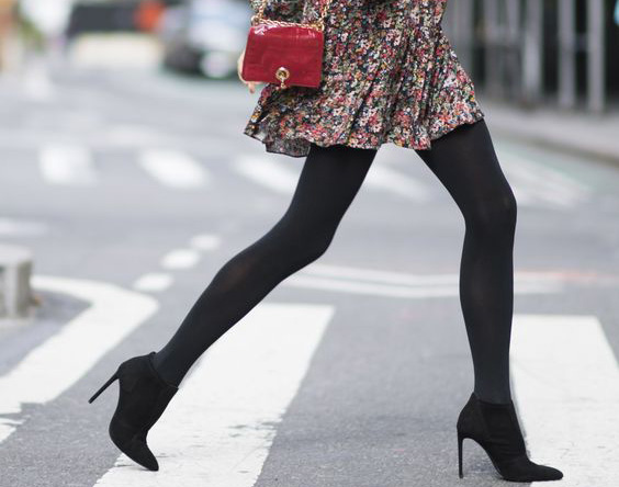 Outfit ideas covering tights.
