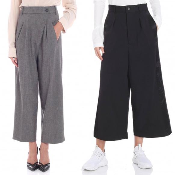 Pantaloni culotte.