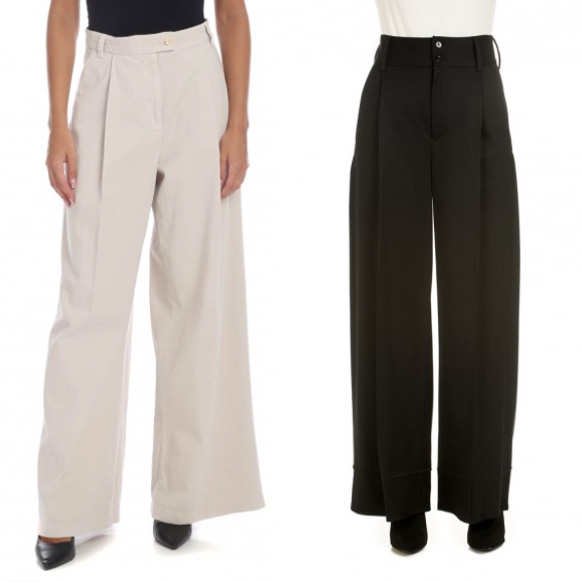 How to wear high waist trousers.