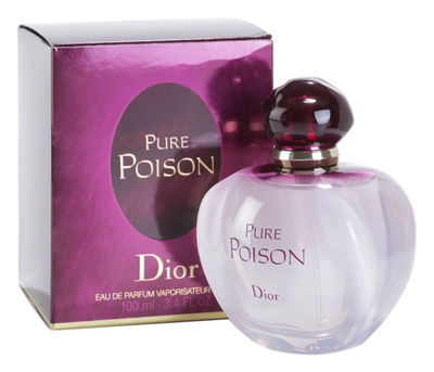 Perfume Pure Poison by Dior.