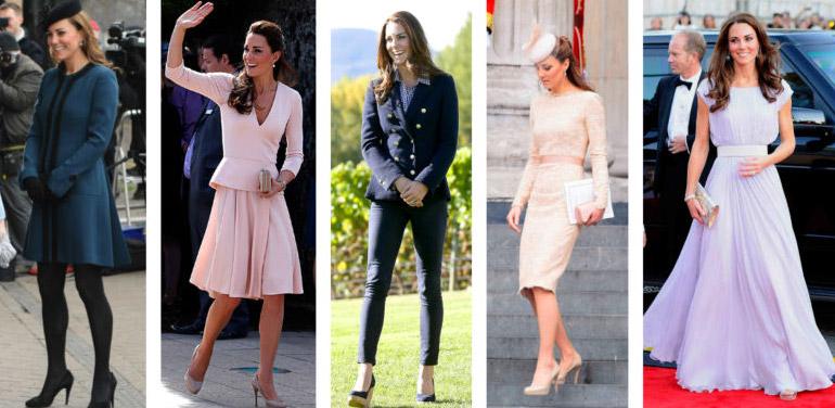 Kate Middleton icone di stile.