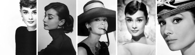 La vita di Audrey Hepburn.