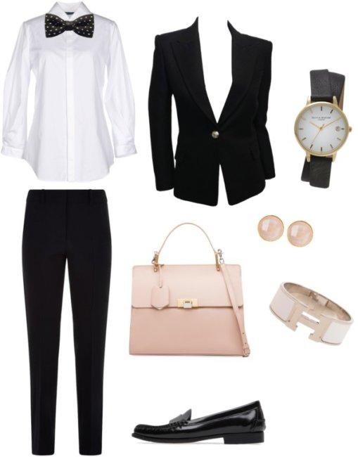 Outfit dandy camicia bianca.