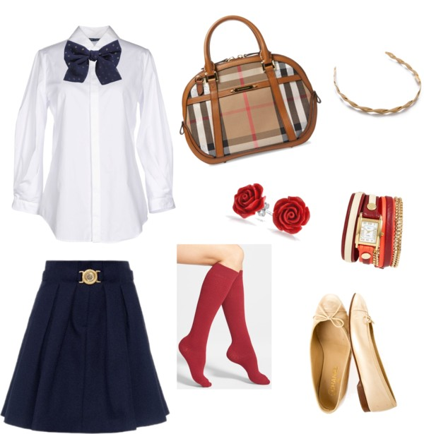 Outfit Preppy.