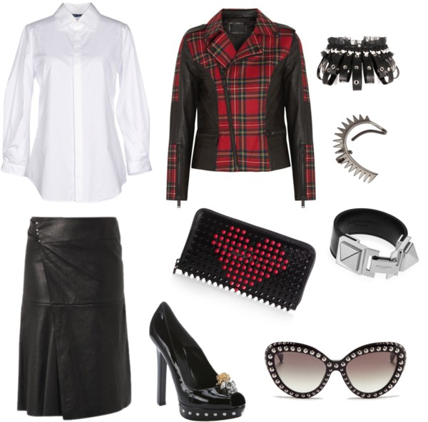 Outfit punk.