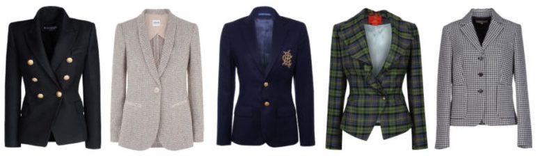 Capi indispensabili giacca e blazer.