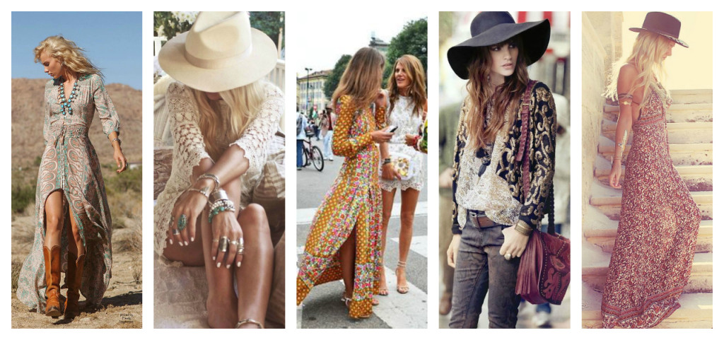 Stili della moda: Bohémien and Boho-Chic.