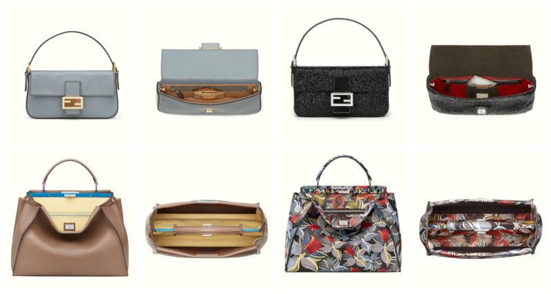 Original Fendi bags.