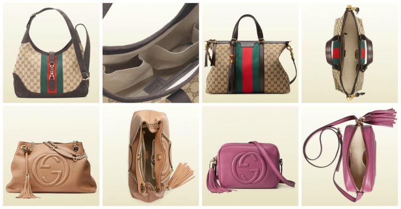 Come riconoscere borsa originale Gucci.