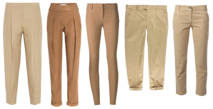 Indispensable items cachi pants.