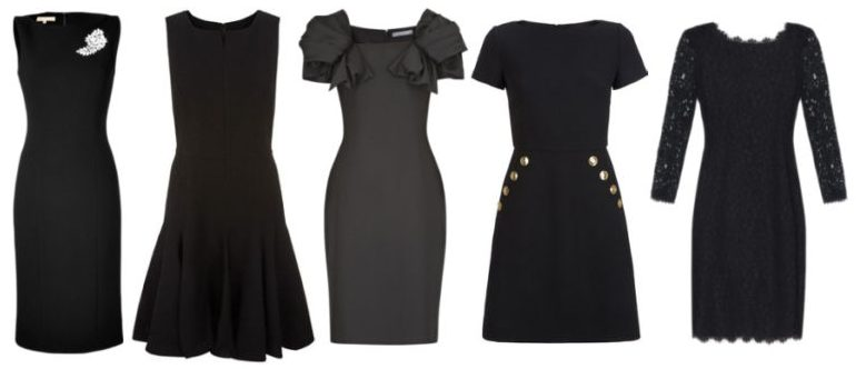 Indispensable clothing little black dress.