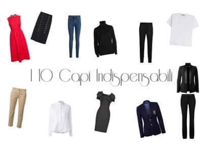 10 capi base per un guardaroba perfetto.