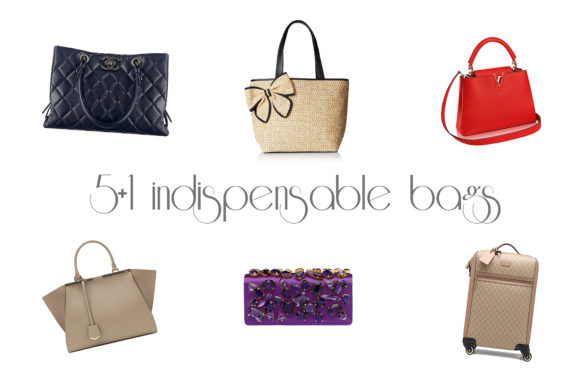 5+1 indispensable bags