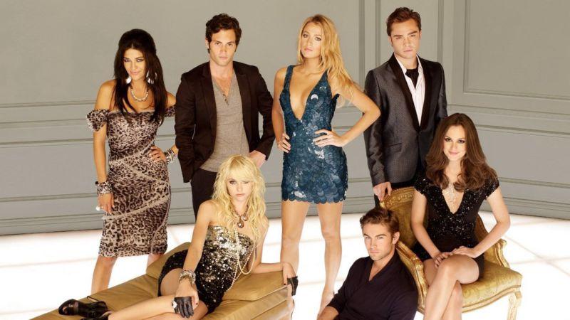 Telefilm di moda Gossip Girl 2007-2012.