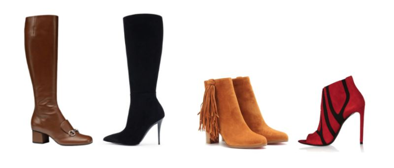 Boots o ankle boots.