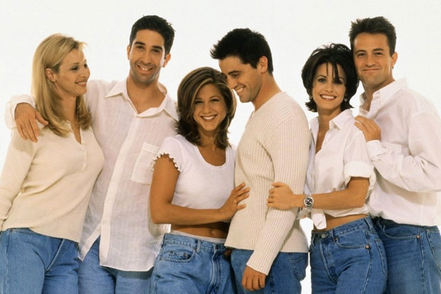 Serie TV Friends 1994-2004.
