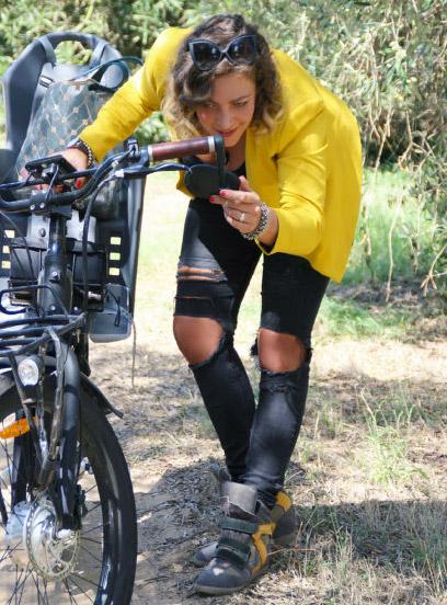 Come vestirsi per un giro in bici.