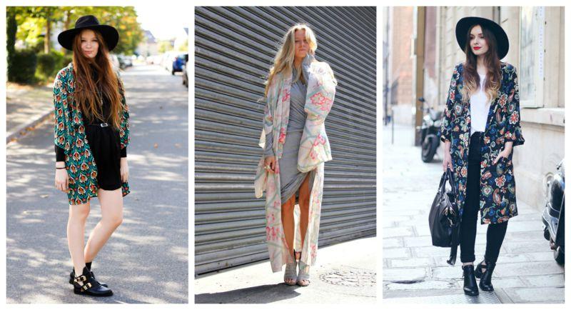 Tendenze moda: kimoni.