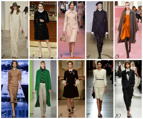 10 Top dalle sfilate autunno inverno 2015/16 - Top 10 from the fall winter 2015/16 fashion shows.