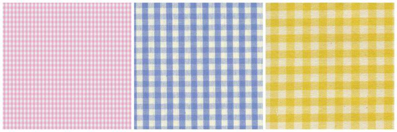 Vichy pattern.