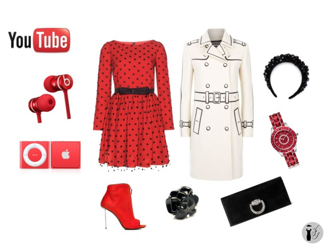 You Tube look idea.