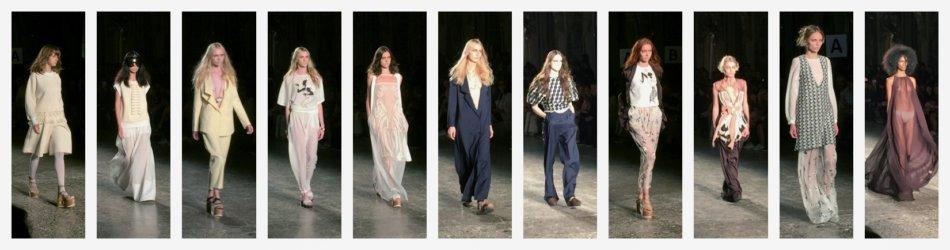 Alberto Zambellii fashion show Milano fashion week 2015.