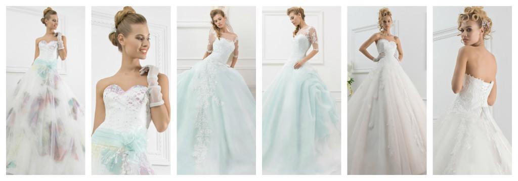 Le Spose di Chiara modelli colorati.