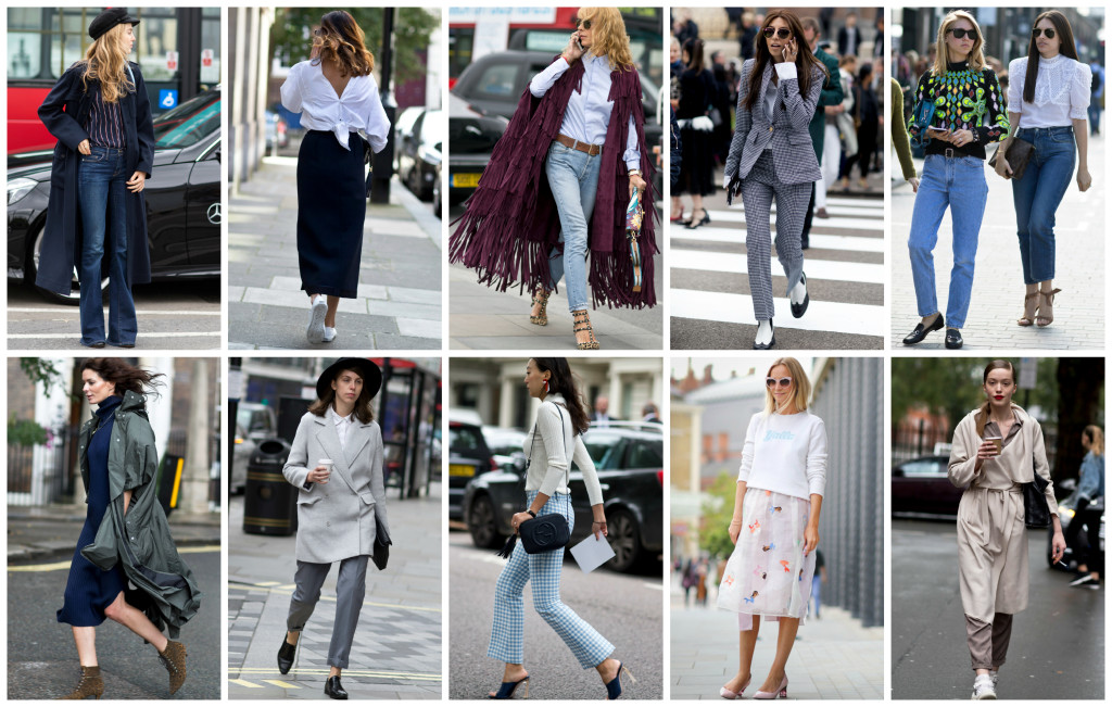 London Fashion Week outfit.