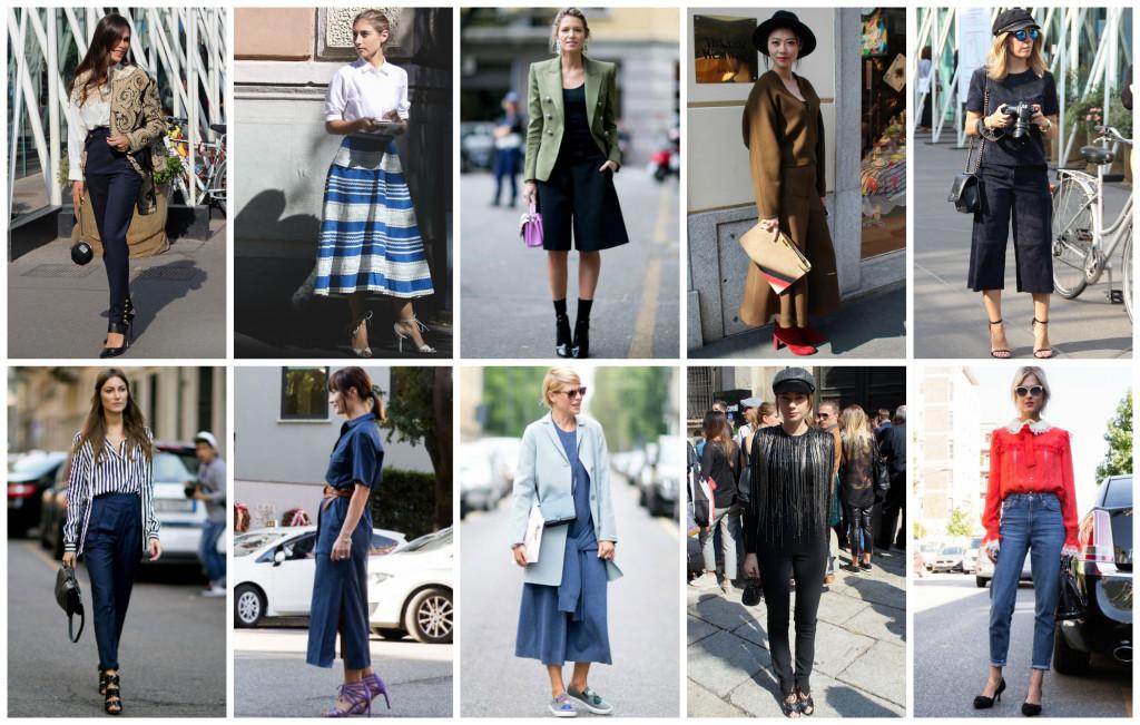 street style outfit Milan Fashion Week.