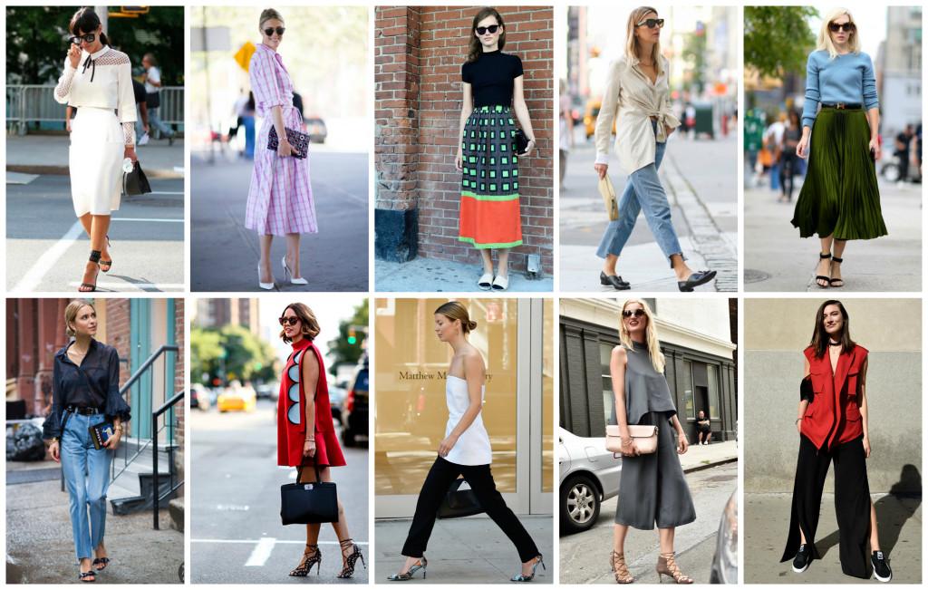 Migliori outfit New York Fashion Week.